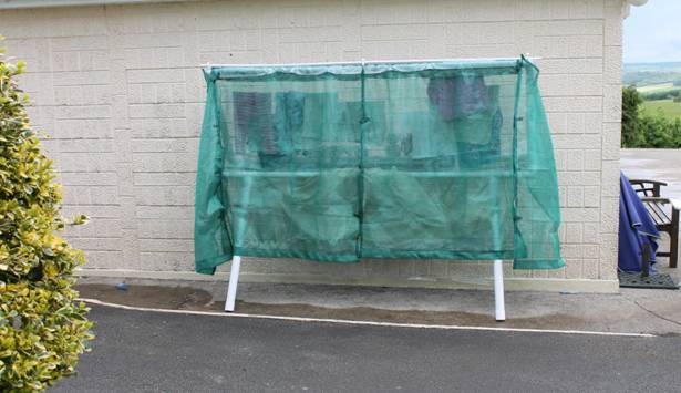 Outdoor Cloth Dryer ~ All weather outdoor clothes lines ideal for irish