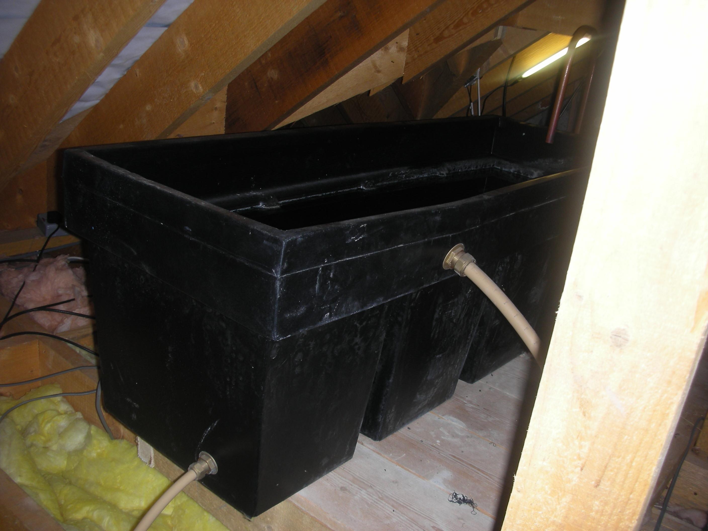 Attic Tank Jacket Attic Tank Insulator Dust Cover For